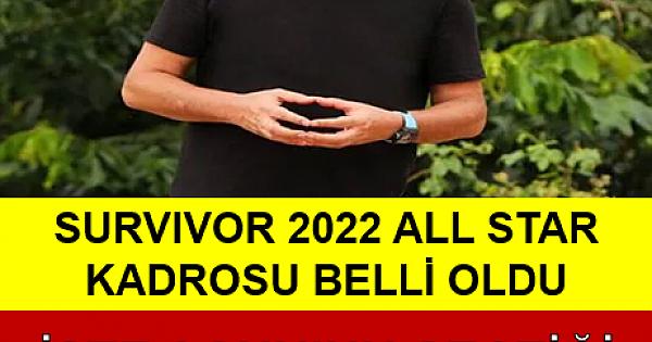 2022 Survivor All Star Kadrosu Belli Oldu! İşte Acun Ilıcalı'nın 2022 Survivor İçin Seçtiği Olay İsimler....