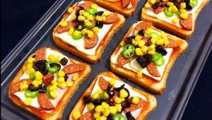 Tost ekmeğinden pizza nasıl yapılır?