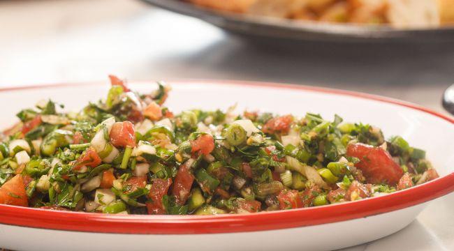 Bostana salatası tarifi