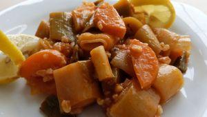 Pirinçli pırasa yemeği nasıl yapılır?